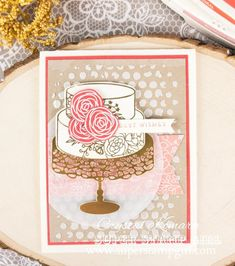 Stampin' Up! Sweet Soiree #Occasions2018