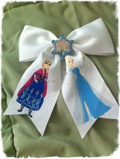 A sisters bond custom bow I made https://www.facebook.com/pages/Elphabelles-Enchanted-Trinkets/1417792081782148