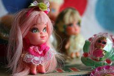 Little Kiddle Locket Dolls - Mid-Late 1960's