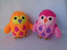 Baby Owl Plush Toy, Owl Stuffed Animal, Owl Sduffed Doll, Sock Monkey, Sock Owl