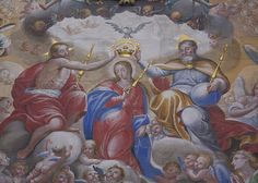 the coronation of the blessed virgen mary | The Coronation of Mary as Queen of Heaven & Earth - a gallery on ...