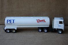 Vintage Ertl Truck And Trailer Pet Cream Truck by PickersWarehouse, $49.00