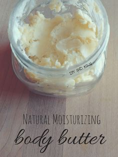 Natural Moisturizing Body Butter
