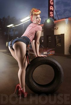 pin ups, rockabilly, burlesque and more — tijuanamakemehappy:   Highly recommended Dollhouse...