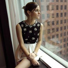 Emma Watson (in Jason Wu) - TIFF portrait, September 9th