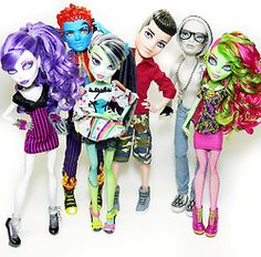 Monster high fashion dolls 87