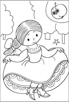 Easy Christmas Crafts, Simple Christmas, Coloring Pages For Kids, Coloring Books, Retro Illustration, Painting Inspiration, Diy Art, Childhood Memories, Embroidery Patterns