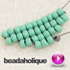 Video: How to Perform Increases in Square Stitch Bead Weaving from  Beadaholique ~ Seed Bead Tutorials