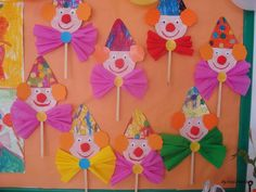 Home Decorating Style 2020 for Bricolage Cirque Maternelle, you can see Bricolage Cirque Maternelle and more pictures for Home Interior Designing 2020 at Coloriage Kids. Clown Crafts, Circus Crafts, Carnival Crafts, K Crafts, Preschool Crafts, Easy Crafts, Arts And Crafts, Paper Crafts, Circus Birthday