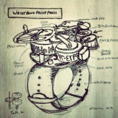 Wristband Print Press