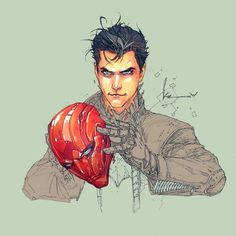 Jason Todd. RED HOOD by Kenneth Rocafort  Never liked him when he debuted.  Now?  He's my favorite in the Bat Family.