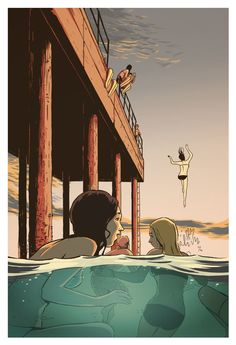 /// The Pier by Guy Shield, via Behance