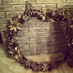 A better picture of my home made wreath! Grapevine Wreath, Grape Vines, Cool Pictures, Wreaths, Homemade, Diy, Home Decor, Homemade Home Decor, Door Wreaths
