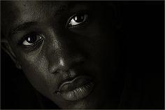 A Windowlight Portrait - Black-and-white-Portrait  - IMG_5528 by Bahman Farzad, via Flickr