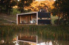 Casas de sonho: Um celeiro transformado numa cabana ecológica na Austrália (fotos) — idealista/news