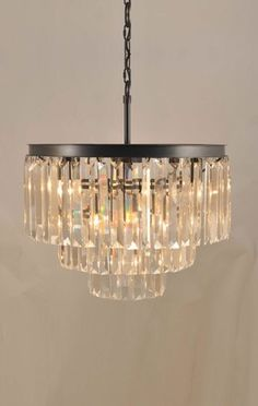 New York Contemporary Crystal Chandelier 9 Lights