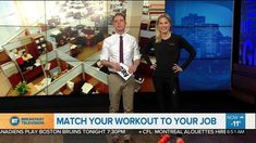 Learn how to match your workout to your job AND (more enjoyably) how to give your feet some love! I always have fun on BT Montreal - such fitness fun!!