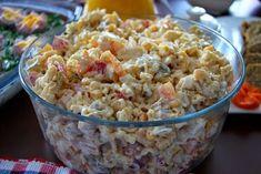 Sałatka z zupek chińskich z kurczakiem Pasta Salad, Salad Recipes, Potato Salad, Grains, Potatoes, Ethnic Recipes, Food, Yummy Yummy, Salads