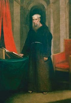 Portrait Of Friar Antonio de Sedella OFM. Cap., (1730 - 1829), Former Rector Of The Cathedral Of Saint Louis, New Orleans, Lousiana, USA. Portrait from 1822