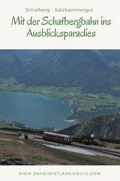 Mit der Schafbergbahn ins Ausblicksparadies