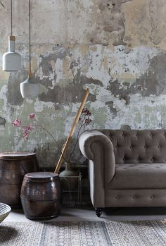 Buy Dutchbone Cradle Carafe Pendant Lamp online with Houseology's Price Promise. Full Dutchbone collection with UK & International shipping. Shop Interior Design, Home Interior, Fade Designs, Distressed Walls, Concrete Wood, Transitional Decor, Pendant Lamp, Wall Design, Home Decor