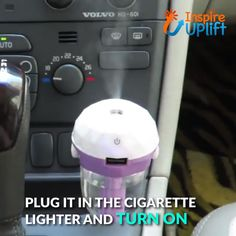 Auto Mini Car Humidifier 😍 Our best-selling, Auto Mini Car Humidifier combines the mood lifting benefits of aromatherapy and the soothing benefits of humidification in one, easy-to-use, little device. Car Cleaning Hacks, Car Hacks, Mini Car, Auto Mini, Cute Car Accessories, Girly Car, Car Essentials, Car Gadgets, Simple Life Hacks