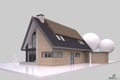 Woning Nieuwbouwen (particulier) - Zethoven Bouwplan Groep Ramen, Villa, House Ideas, House Styles, Artist, Design, Home Decor, Apartment Layout, The Beach