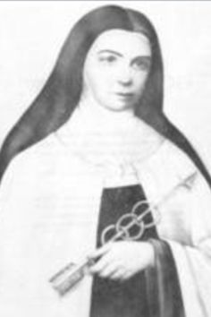 "Sr Mary of St Peter-French Carmelite nun and mystic; asked reparation be made for blasphemy; promoted Golden Arrow prayer: ""May the most holy, most sacred, most adorable, most incomprehensible and ineffable Name of God be forever praised, blessed, loved, adored and glorified in Heaven, on earth, and under the earth, by all the creatures of God, and by the Sacred Heart of Our Lord Jesus Christ, in the Most Holy Sacrament of the Altar. Amen."""