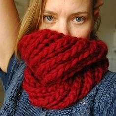 Swirling Cowl pattern by Signe Marie Richter - 7-8
