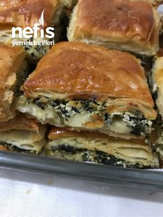 Turkish Recipes, Ethnic Recipes, Spanakopita, Feta, Donuts, Food And Drink, Pizza, Bakery Business, Frost Donuts
