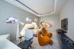 appartement futuriste