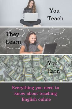 The complete guide to teaching English online. Includes what it's all about, how to get started, and how you can increase your earnings each month. Teaching English Online, Job Information, University Degree, Interview Process, Personal Goals, New Opportunities, Good Job, Lesson Plans, Esl