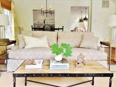 Pure Style Home: Our Clients' Home: Before & After cool sofa