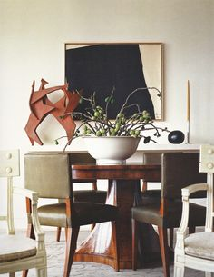 """When is a space """"not style stingy""""...when the arrangement of elements is perfection. Orlando Diaz-Azcuy"""