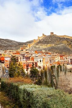 Albarracin, Spain! Click through to see 25 more of the most beautiful villages in the world!
