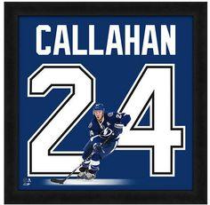 "Ryan Callahan Tampa Bay Lightning - Officially Licensed 20"" x 20"" Uniframe"