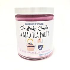 A Mad Tea Party candle, inspired by Alice in Wonderland by Lewis Carroll, is a must-have item for fall.