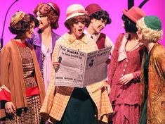 Newspaper from 'Thoroughly Modern Millie'