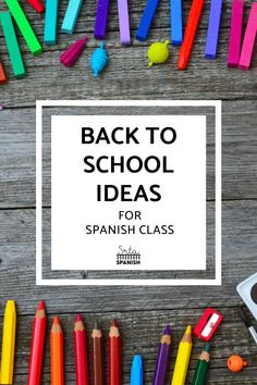 Are you looking for Back to School Activities for your Spanish class? Are you wondering what to do the 1st week of school in your Spanish classroom? Check out these awesome ideas for getting to know you activities, lesson plans for the first day of school, and a unit plan to start your Spanish curriculum off on the right foot! Your middle school and high school Spanish students will love these icebreaker activities and more! Click to read the post! Icebreaker Activities, Vocabulary Activities, Class Activities, Get To Know You Activities, Back To School Activities, Spanish Classroom, Teaching Spanish, Middle School Spanish, Spanish Lesson Plans