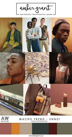 #AW2019 #AW2020 #MacroTrend #Trend #Moodboard #Trending #TrendResearch #TrendAnalysis #TrendSetter #Fashion #MensFashion #Style #TrendBoard #MicroTrend #FW2019 #FW2020 #AmberGrant #Mood #Aesthetic