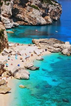 Sardinia ~ beautiful island in the Mediterranean Sea, Italy.