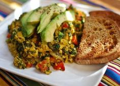 UTSU and Veg Club are making a free vegan breakfast for all students at U of T! Come and enjoy a delicious and healthy Tofu Scramble on Toast with some Avocado! Yum! Tea and coffee will also be served. Location: Multi-Faith Centre University of Toronto #Food #Vegan