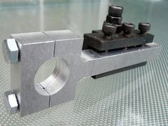 tool post grinders for a lathe | lathe attachment for the Proxxon Mini Drill/Grinder was fabricated ...