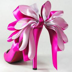 Christian Louboutin Anemone Satin Evening Pink Red Bottom Shoes