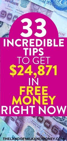 I was wondering how to get free money right now (that was absolutely free no strings attached) so these hacks to get extra cash fast are awesome! Seeing tips on how I can earn with free money Free Money Now, Quick Money, Earn More Money, Earn Money From Home, Earn Money Online, Way To Make Money, Money Fast, Fast Cash, Extra Cash