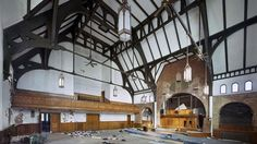 Modern Ruins of Abandoned Detroit (PHOTOS) - weather.com The former Unitarian Church in Detroit. (Yves Marchand and Romain Meffre)