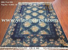 The deep blue handmade silk rug is from Yilong carpet. Do you like the color or design?#carpet#handknotted#handknittedcarpet#rug#persiancarpet#silkcarpet#chinesesilkcarpet#orientalsilkcarpet#henancarpet#rugsandcarpets#handmade#turkishcarpet www.yilongcarpet.com alice@yilongcarpet.com whatsapp: +8615638927921