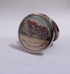 Antiques Atlas - Antique Celluloid Compact Shakespeare's Birthplace