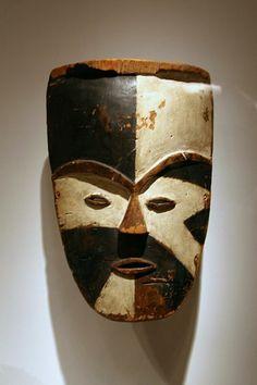 Gabonese mask.