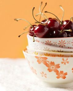 "Still life photography  - Wall art kitchen decor - Minimalist Kitchen - Fine art food photography print 8x10 - ""Bowl of Cherries"" on Etsy, $30.00"